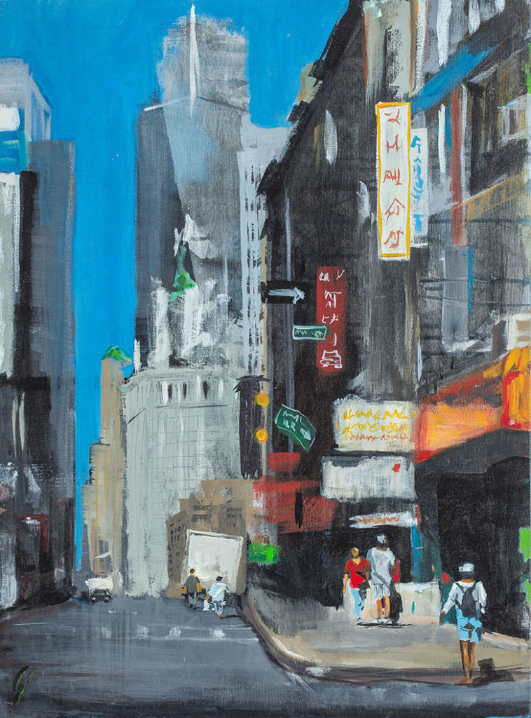 Painting in New York